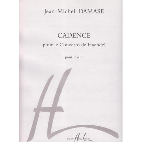 Damase Jean-Michel - Cadence pour le Concerto de Haendel