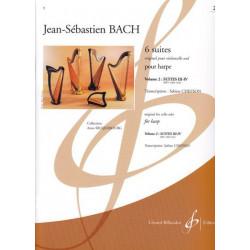 Bach Johann Sebastian - 6 suites (Original pour violoncelle seul) BWV 1009 - 1010