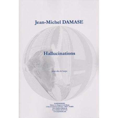 Damase Jean-Michel - Hallucinations (alto & harpe)