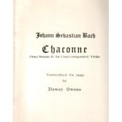 Bach Johann Sebastian - Owens Dewey - Chaconne (Lyra)