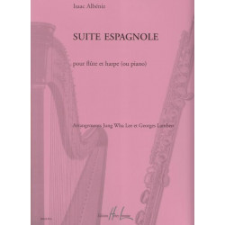 Albéniz Isaac - Suite espagnole (flûte & harpe)