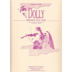 Fauré Gabriel - Dolly, berceuse (violon ou violoncelle ou flûte & harpe ou piano)