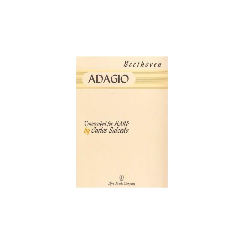 Beethoven Ludwig van - Adagio (Sonate au clair de lune - Carlos Salzedo)