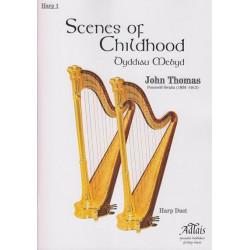 Thomas John - Scenes of Childhood (2 harps)