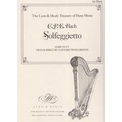 Bach Carl Philipp Emmanuel - Solfeggietto (2 harpes)