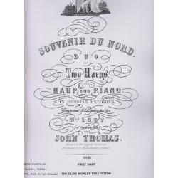 Thomas John - Souvenir du nord (2 harpes ou harpe & piano)