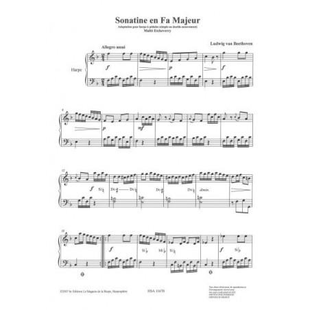 Beethoven Ludwig van - Sonatine en Fa Majeur (Ma