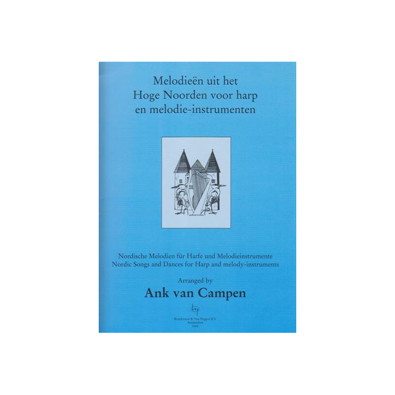 Nordic songs and dances for harp and melody-instruments