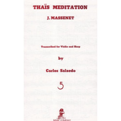 Massenet Jules - Thaïs méditation (violon & harpe)