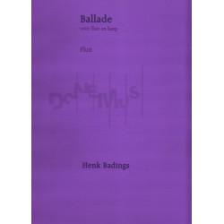 Badings Henk - Ballade voor fluit en harp
