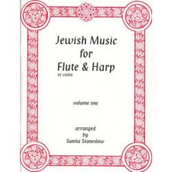 Staneslow Sunita - Jewish Music for flute or violin & harp Vol.1