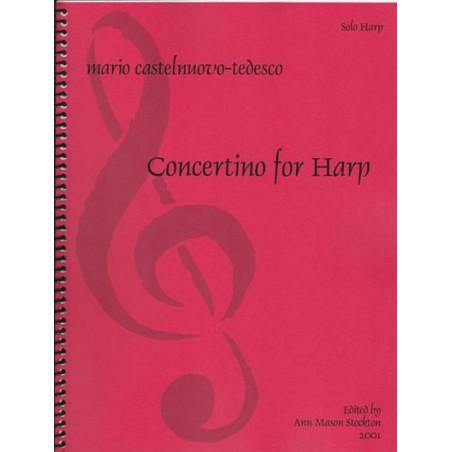 Castelnuovo Tedesco Mario - Concertino for harp<br>(solo harp)