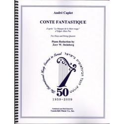 Caplet André - Conte Fantastique (Le Masque de la Mort rouge)For harp and String Quartet