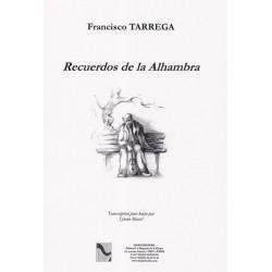 Tarrega Francisco - Recuerdos de la Alhambra  Transcription pour la harpe par Sylvain Blassel