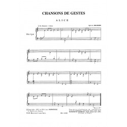Beltrando Sylvie - Chansons de gestes (premier cycle E.N.M.)