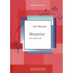 Maayani Ami - Maqamat (pour harpe seule)