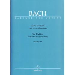 Bach Jean-Sébastien - Sechs Partiten (Six Partitas) BWV 825 - 830