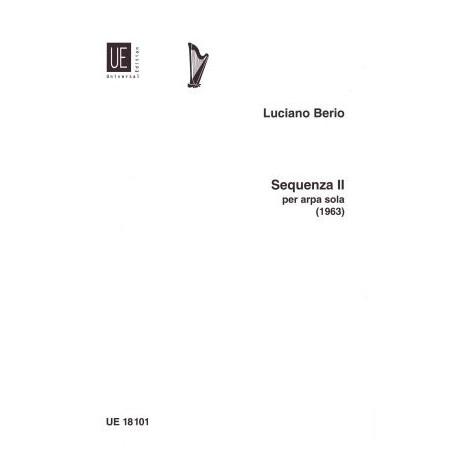 Berio Luciano - Sequenza II per arpa sola (1263)