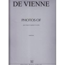 De Vienne Bernard - Photos of... (Score)