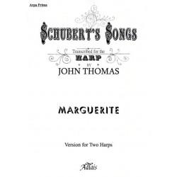 Schubert Franz - Marguerite (for two harps by John Thomas)