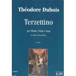 Dubois Théodore - Terzettino (per flauto, viola e arpa)