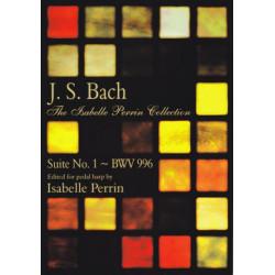 Bach Johann Sebastian - Suite N° 1 BWV996 (pedal harp)