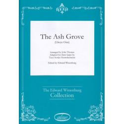 Thomas John - The Ash Grove (for three harps)