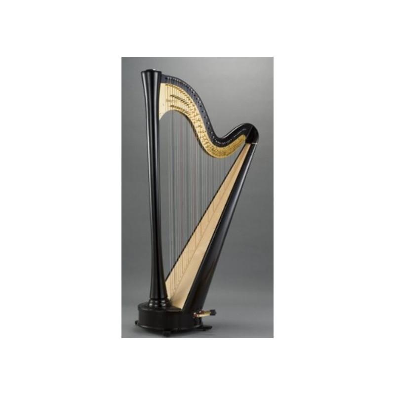 harpe d 39 tude 46 cordes table droite. Black Bedroom Furniture Sets. Home Design Ideas