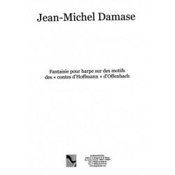 """Damase Jean-Michel - Fantaisie pour harpe sur des motifs  des """"Contes d'Hoffmann"""" d'Offenbach"""