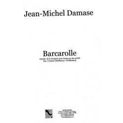 """Damase Jean-Michel - Barcarolle  extraite de la Fantaisie pour harpe sur des motifs  des """"Contes d'Hoffmann"""" d'Offenbach"""