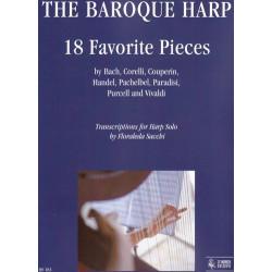 Divers auteurs - The Baroque Harp  18 Favorite Pieces