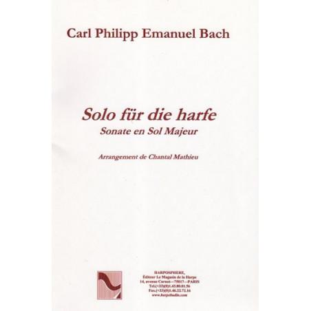 Bach Carl Philipp Emmanuel - Solo f
