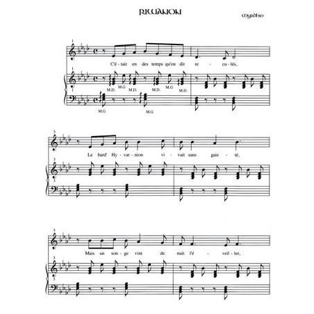 Myrdhin - Riwanon (harpe celte ou piano et chant ou fl