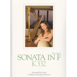 Mozart Wolfgang Amadeus - Sonata in F K332  arg. Maria Luisa Rayan-Forero