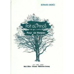 Andrès Bernard - Port au Prince (pour 6 harpes)