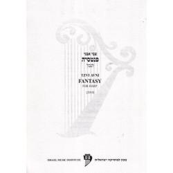 Avni Tzvi - Fantasy for Harp