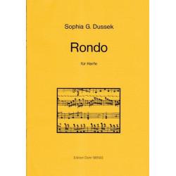 Dussek Sophia Giustina - Rondo für Harfe