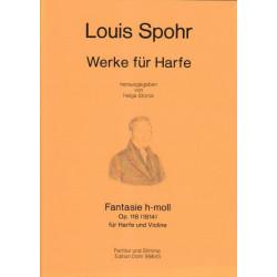 Spohr Louis - Fantasie h-moll (Harfe und Violine)