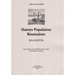 Bartok Béla - Danses populaires roumaines (flûte/piccolo et harpe)