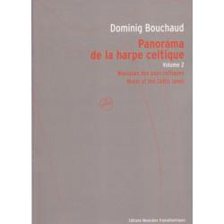 Bouchaud Dominig - Panorama de la harpe celtique vol. 2 (avec CD)