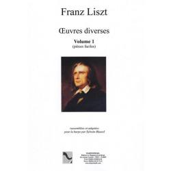 Liszt Franz - Oeuvres diverses volume 1 (pièces faciles)