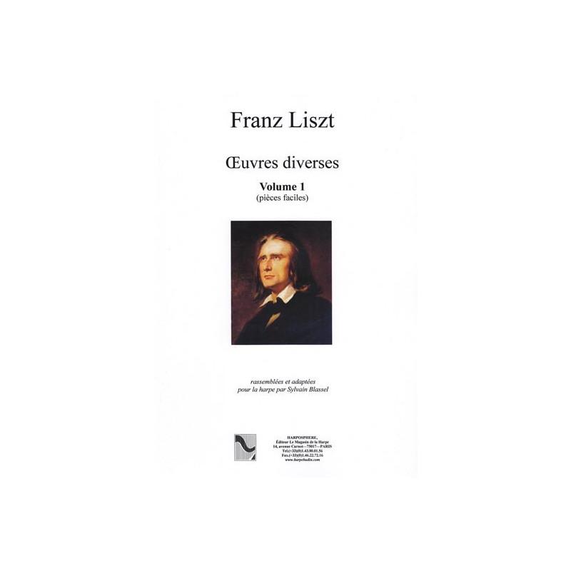 Liszt Franz - Oeuvres diverses volume 1 (pi