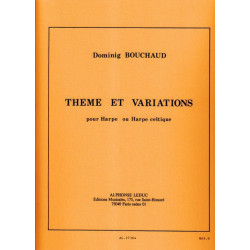 Bouchaud Dominig - Thème & variations