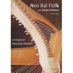 Martin Roxanne - Néo Bal Folk (harpe celtique solo et duo)