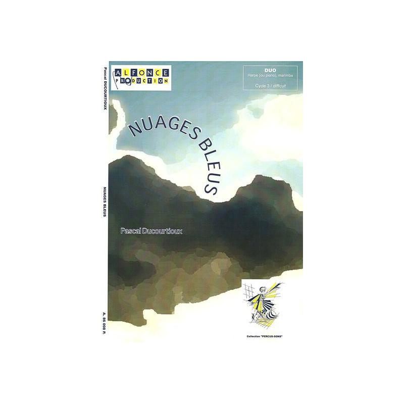 Ducourtioux Pascal - Nuages Bleus (marimba & harpe)