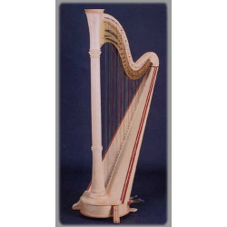 Harpe Aoyama - Orpheus - 46 cordes table droite finition : naturel