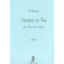 Ravel Maurice - Salzedo Carlos - Sonatine en trio