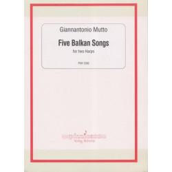Mutto Giannantonio - Five Balkan Songs (2 harpes)