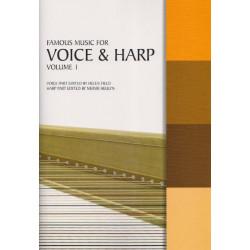 Famous music for Voice & Harp vol.1