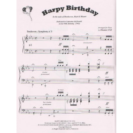 Fell Eleanor - Harpy Birthday